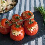 Tomates rellenos de tabulé