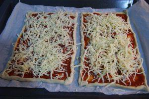 como hacer pizza barbacoa