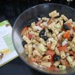 Ensalada griega de pasta