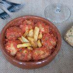 Albóndigas de tofu en salsa de tomate