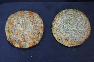 medallones de verdura