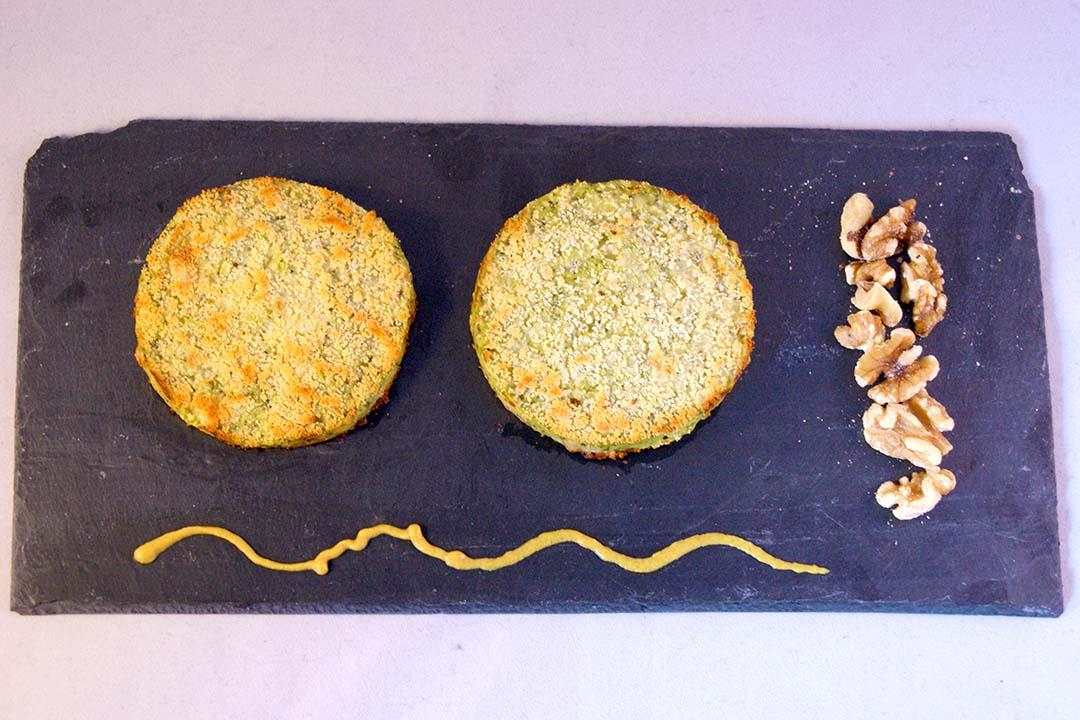 Medallones de brocoli y queso