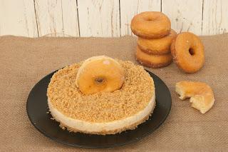 Receta de tarta de donuts