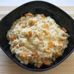 Risotto de zanahoria (vegano)