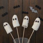 Plátanos fantasma para Halloween