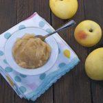 Compota de manzana (sin azúcar)