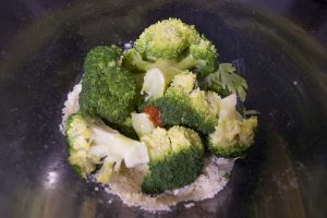 salsa de brocoli