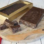Turrón de chocolate (vegano)