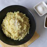 Risotto al curry con leche de coco