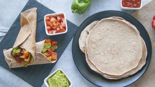 tortillas mexicanas integrales