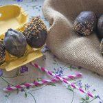 Cómo hacer huevos de chocolate ¡sin molde!