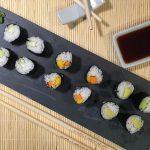 Maki sushi vegano