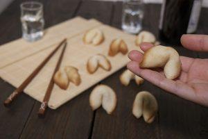 como hacer galletas de la fortuna