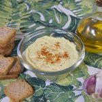 Hummus casero de brócoli