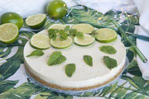 tarta de yogur y lima