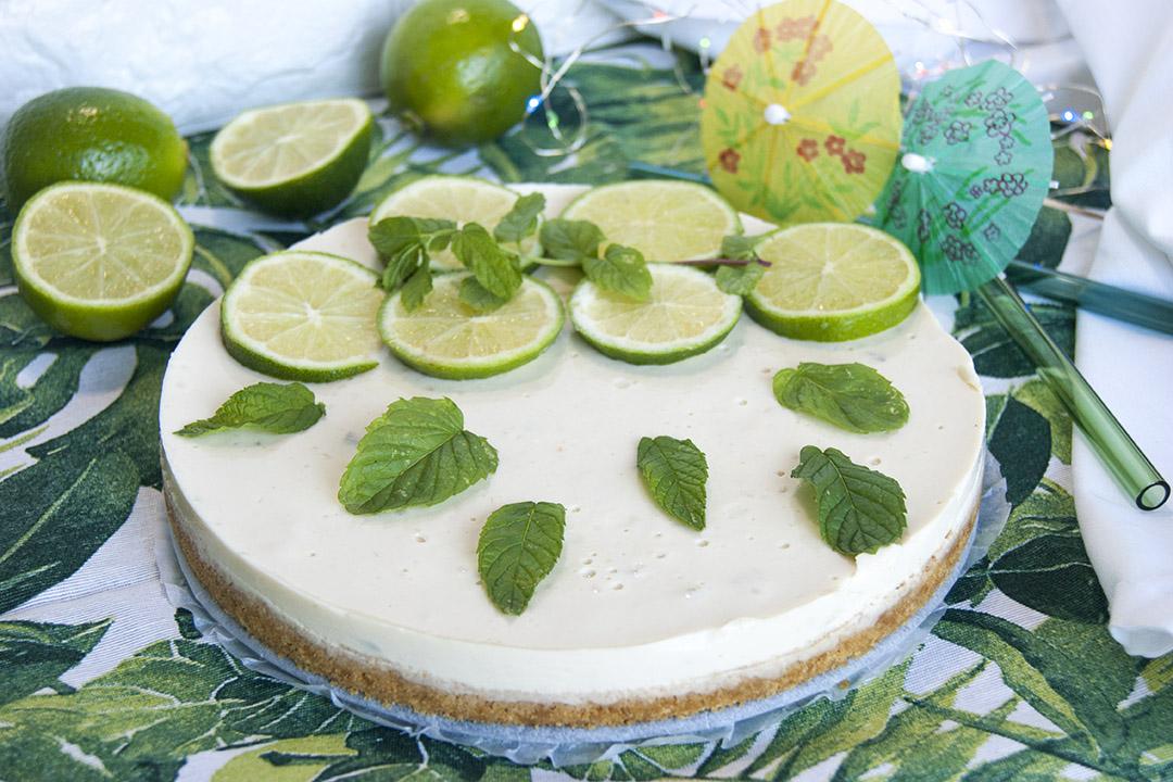 tarta vegana de lima