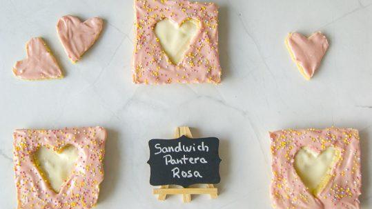 pastelitos pantera rosa veganos