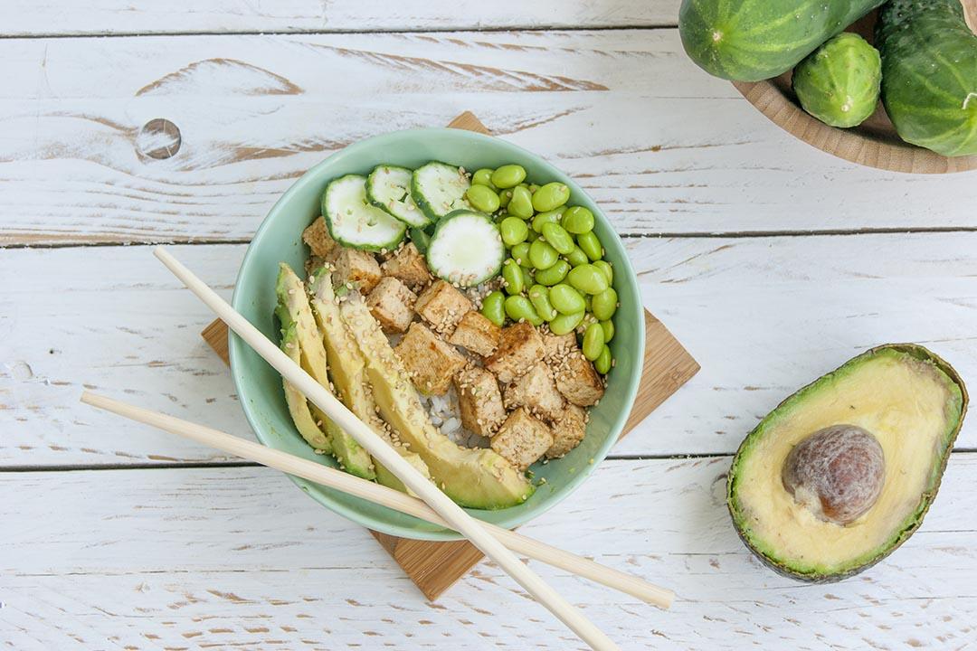 Receta de Poke Bowl vegano